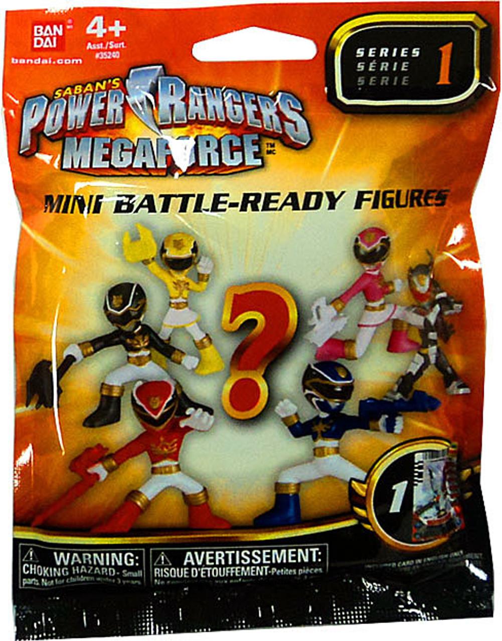 Power Rangers Megaforce Series 1 Mini Battle-Ready Figures Mystery Pack