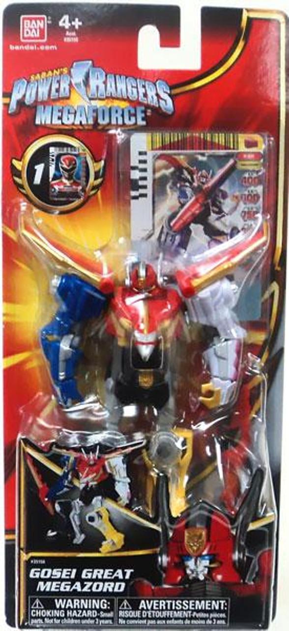 Power Rangers Megaforce Gosei Great Megazord Action Figure