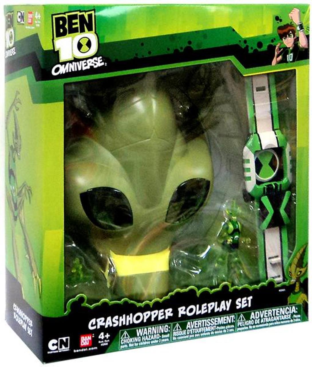 Ben 10 Omniverse Crashhopper Roleplay Set Roleplay Toy