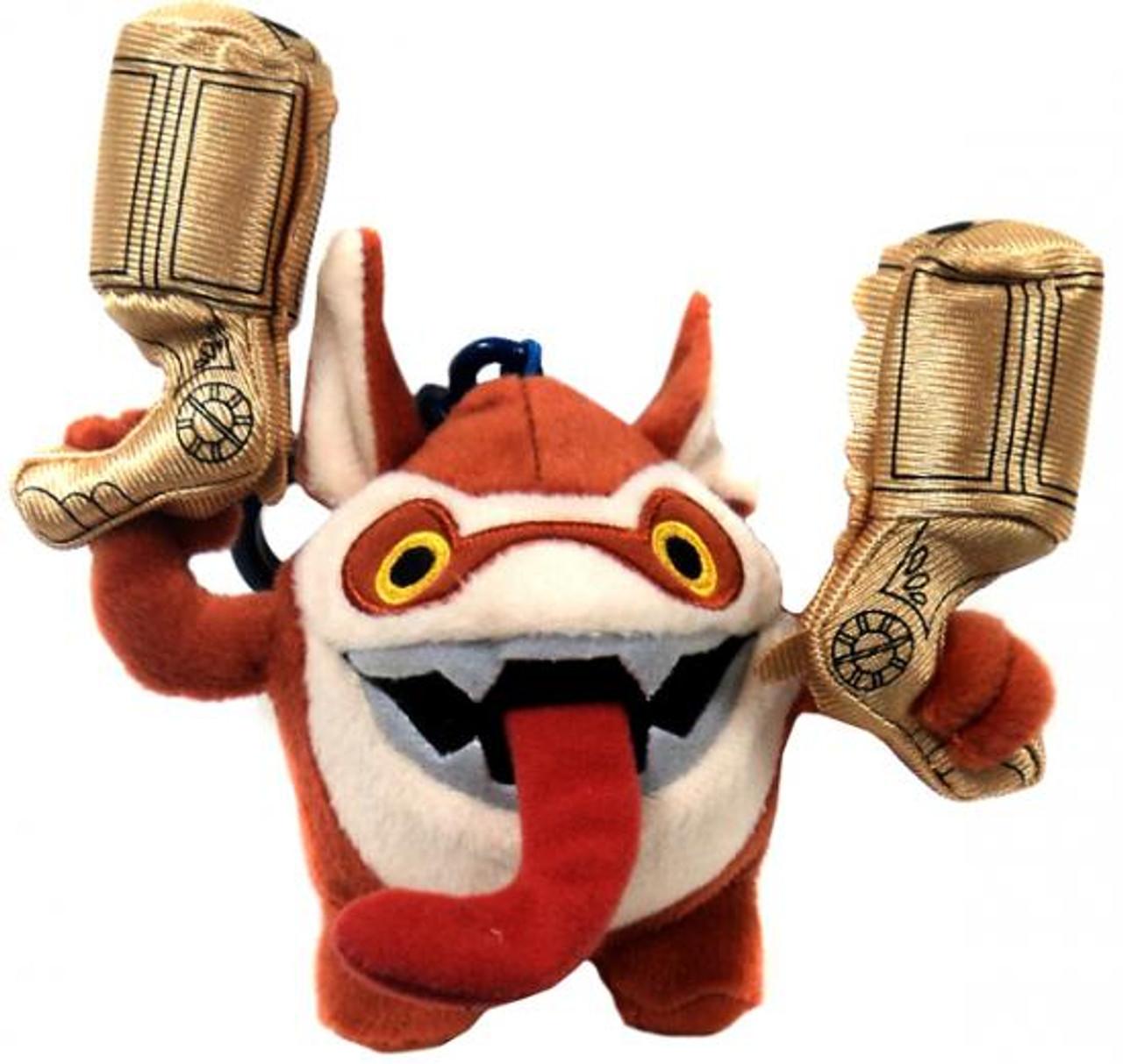 Skylanders Giants Trigger Happy 4-Inch Plush Clip On