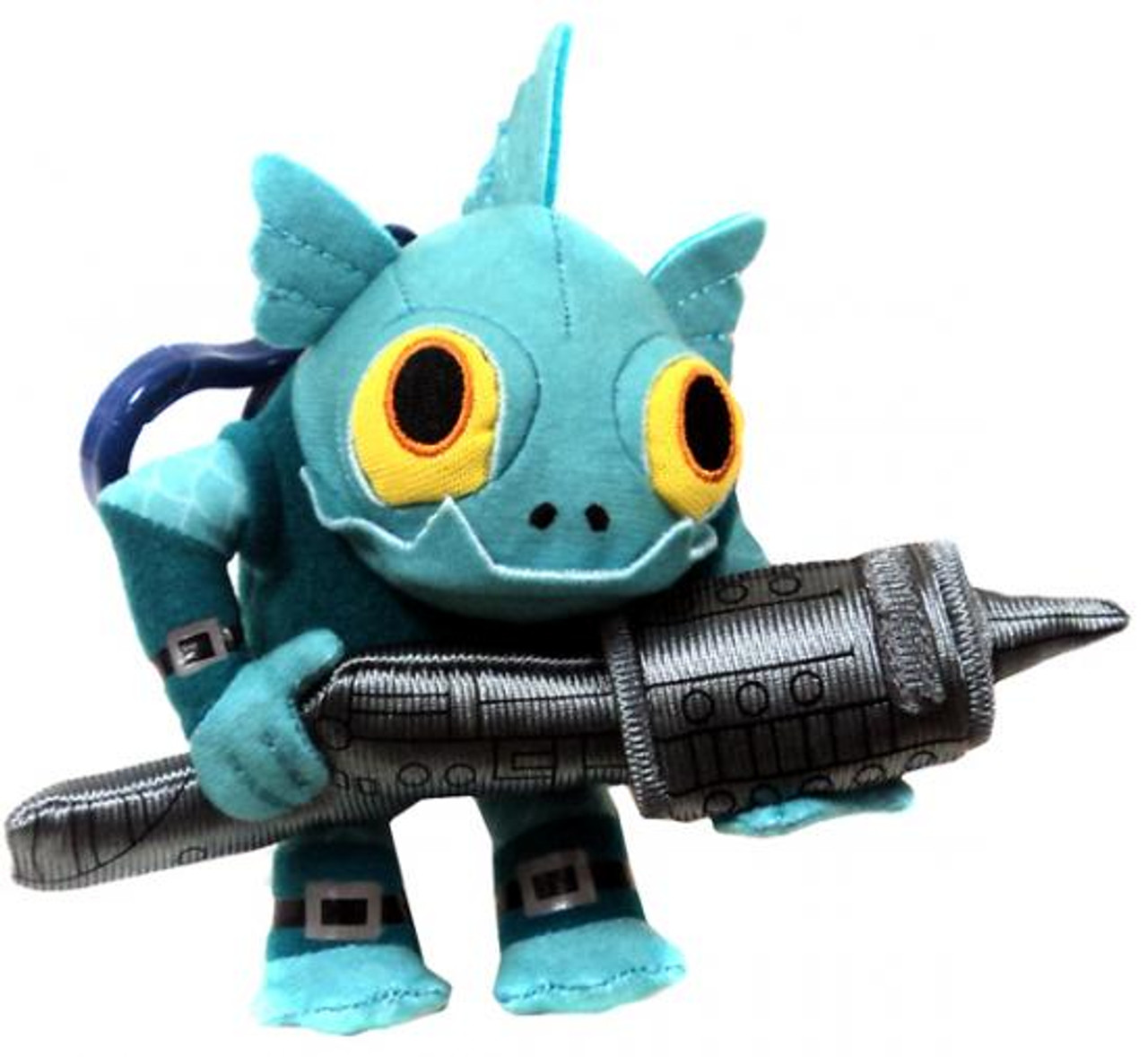 Skylanders Giants Gill Grunt 4-Inch Plush Clip On