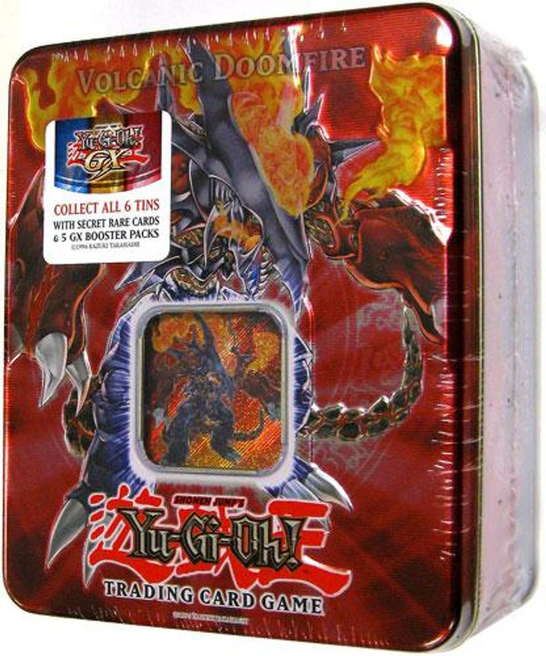 YuGiOh GX 2007 Collector Tin Volcanic Doomfire Collector Tin [Sealed]