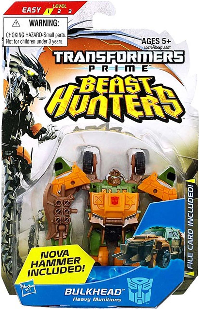 Transformers Prime Beast Hunters Bulkhead Commander Action Figure