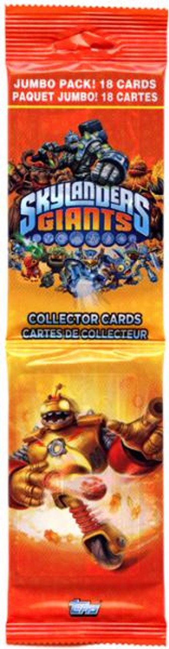Skylanders Giants Trading Card Pack [Jumbo]