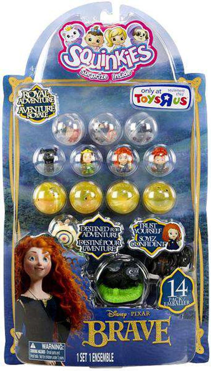 Disney / Pixar Brave Squinkies 14-Pack Exclusive Mini Figures