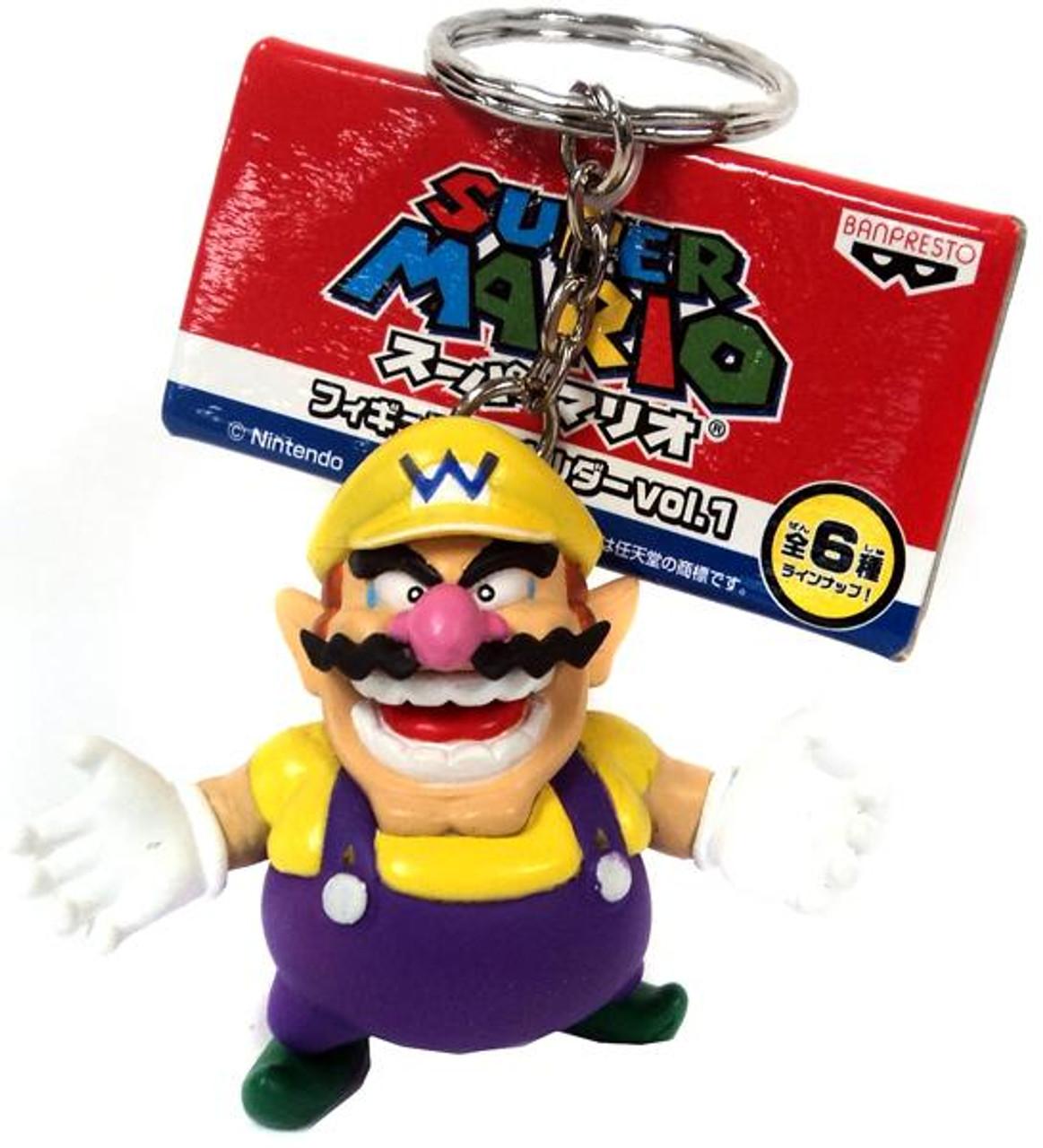 Super Atomic Fun Team PVC Volume 1 Wario Keychain