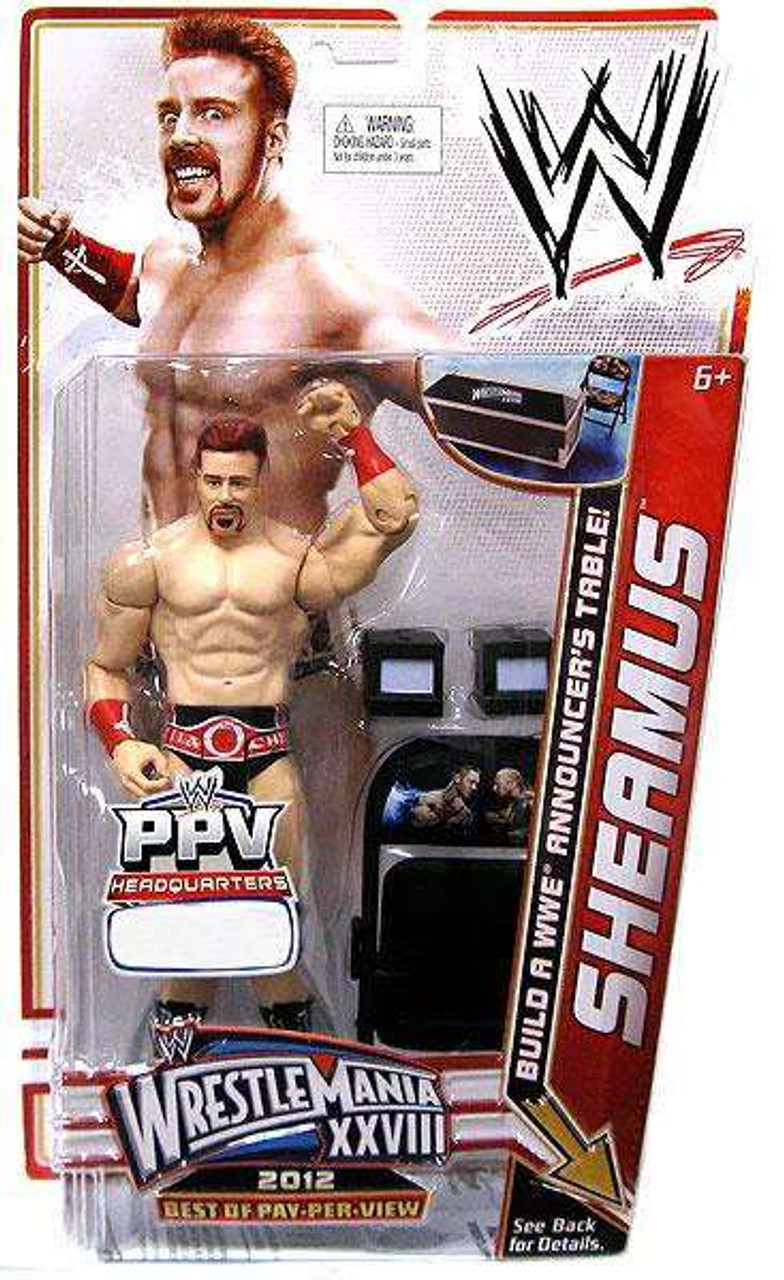 WWE Wrestling Best of PPV 2012 Sheamus Exclusive Action Figure