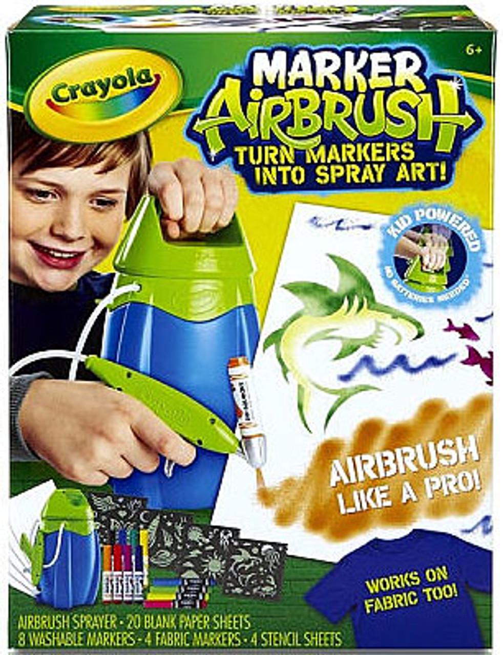 Crayola Marker Airbrush Activity Set [Green]