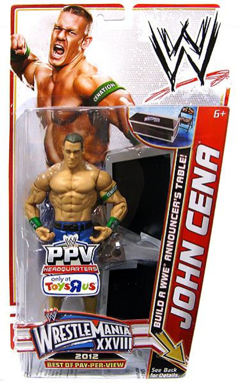 WWE Wrestling Best of PPV 2012 John Cena Exclusive Action Figure