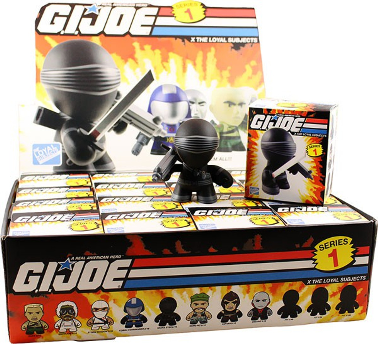 GI Joe Series 1 Mystery Box [16 Packs]