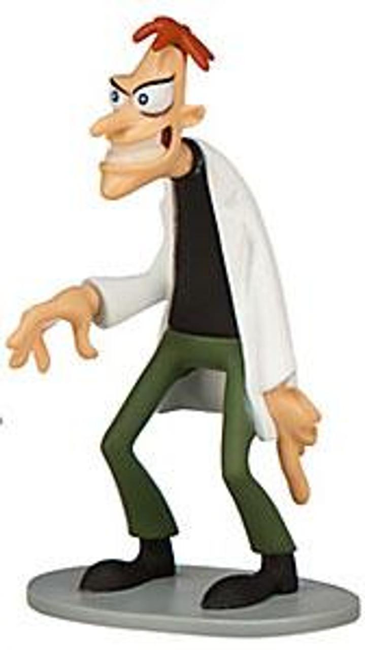 Disney Phineas and Ferb Dr. Doofenshmirtz Exclusive 3.5-Inch PVC Figure [Loose]