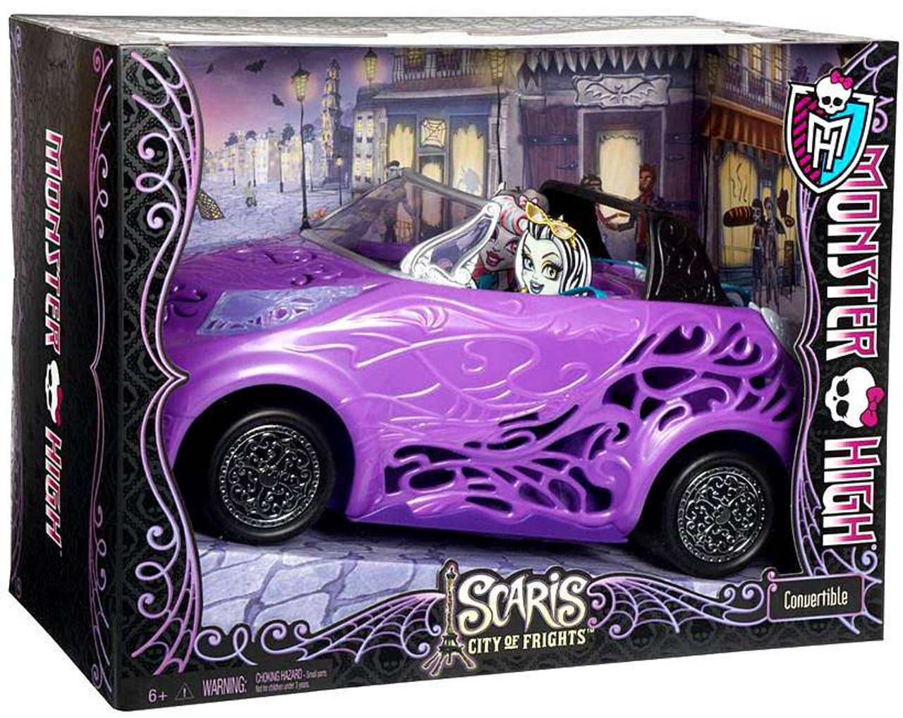 Monster High Scaris City of Frights Convertible 10.5-Inch