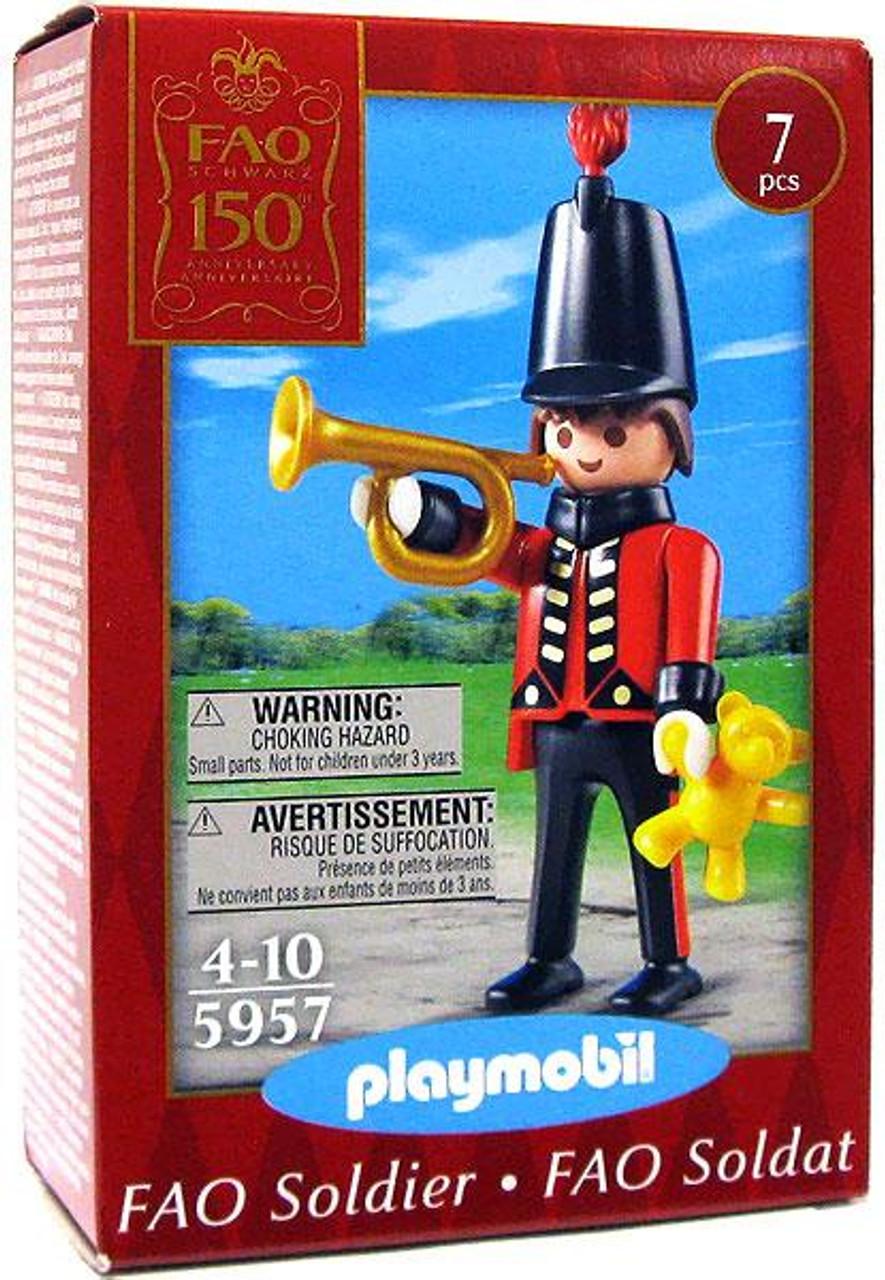 Playmobil FAO Schwarz Soldier Set #5957