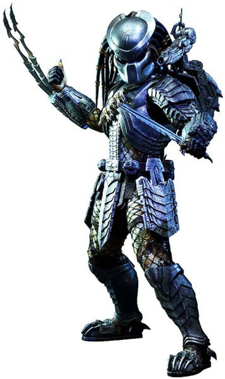 Alien vs Predator Movie Masterpiece Scar Predator 1/6 Collectible Figure