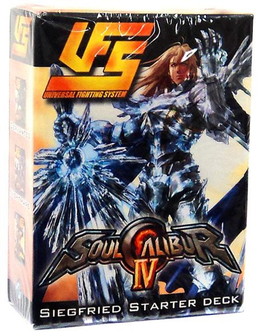 Universal Fighting System Soul Calibur IV Siegfried Starter Deck