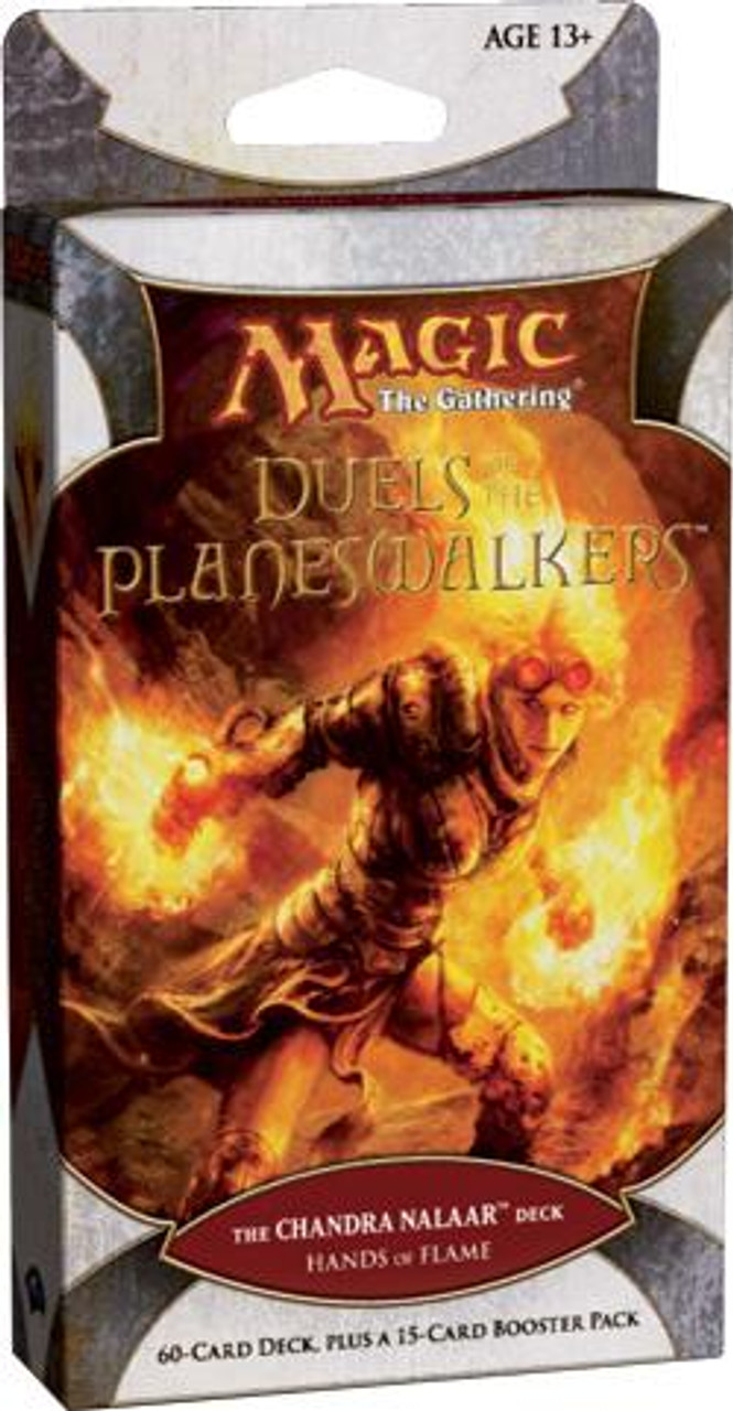 MtG Duels of the Planeswalkers Chandra Nalaar Hands of Flame Intro Pack [Sealed]