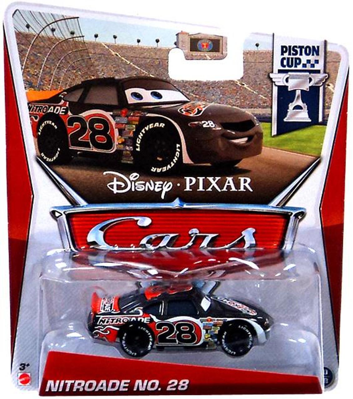 Disney Cars Series 3 Nitroade No. 28 Diecast Car