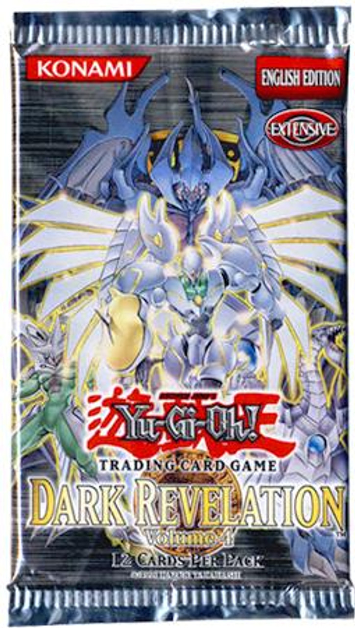 YuGiOh Dark Revelation 4 Booster Pack