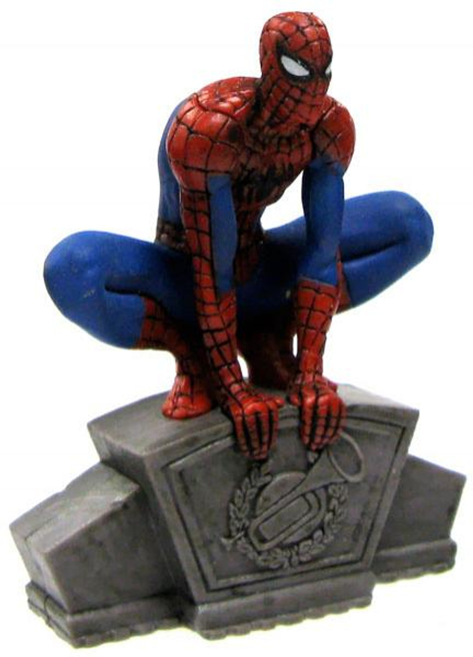 Disney Marvel Spider-Man Exclusive 2.5-Inch PVC Figure [Crouching Loose]