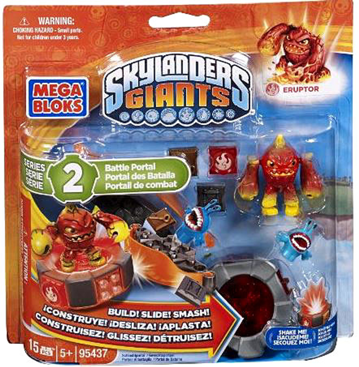 Mega Bloks Skylanders Giants Eruptor Battle Portal Set #95437