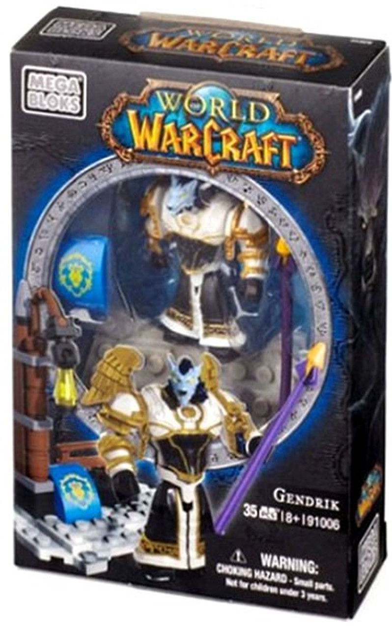Mega Bloks World of Warcraft Faction Packs Gendrik Set #91006