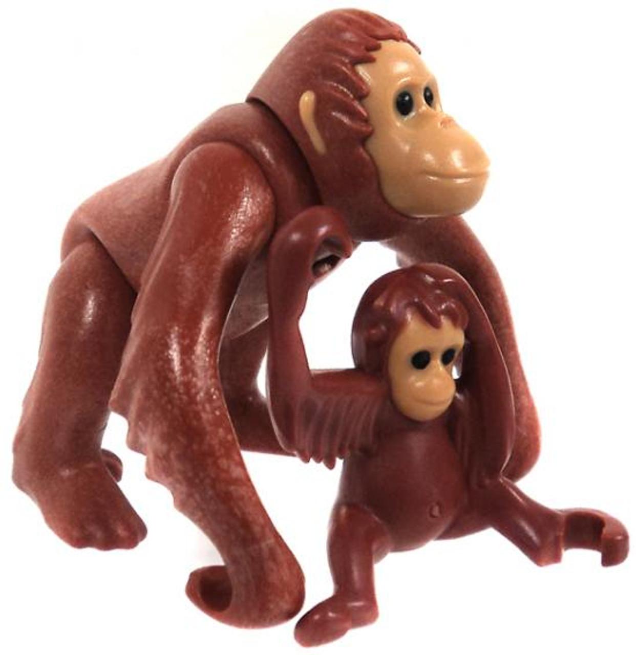 Playmobil Zoo Orangutan with Baby Set #6200