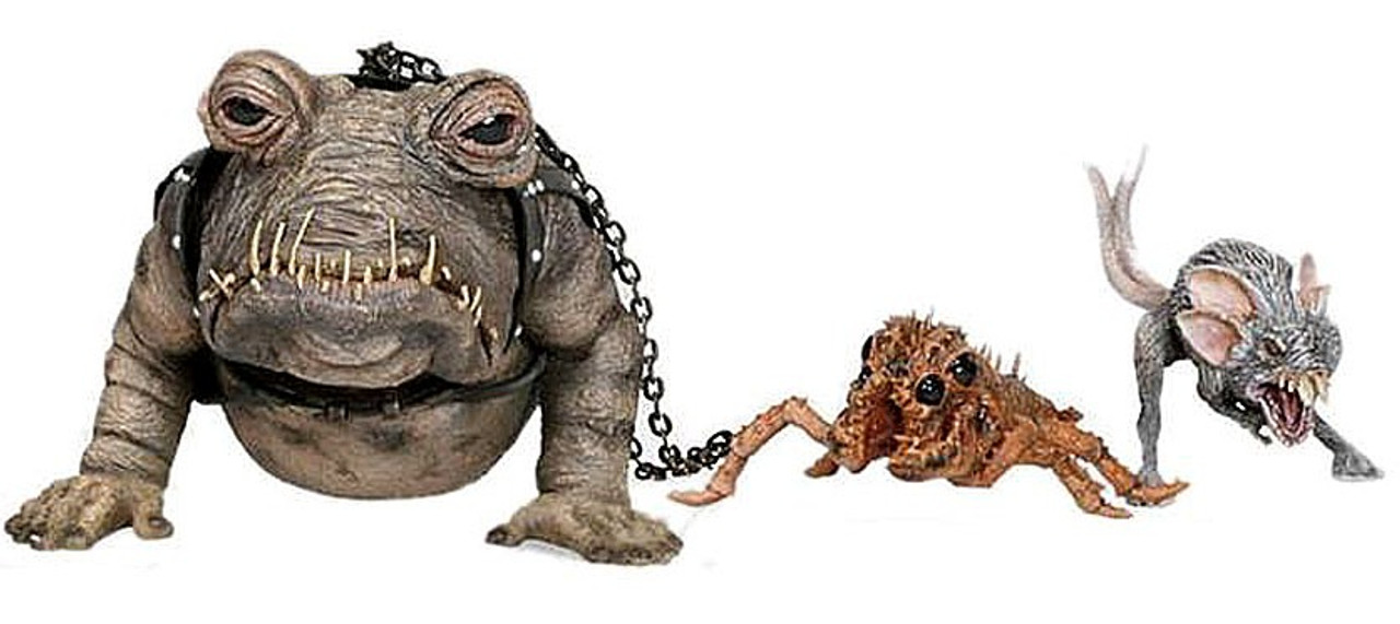 Star Wars Return of the Jedi Scum & Villainy Sixth Scale Buboicullaar Creature Pack 12 Inch Action Figure Set