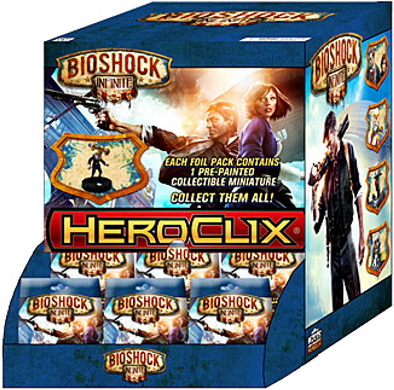 HeroClix Bioshock Infinite Booster Box