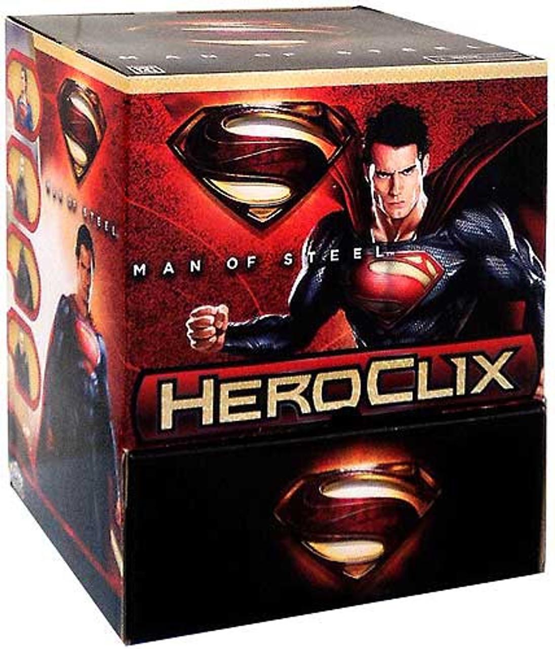DC HeroClix Man of Steel Booster Box