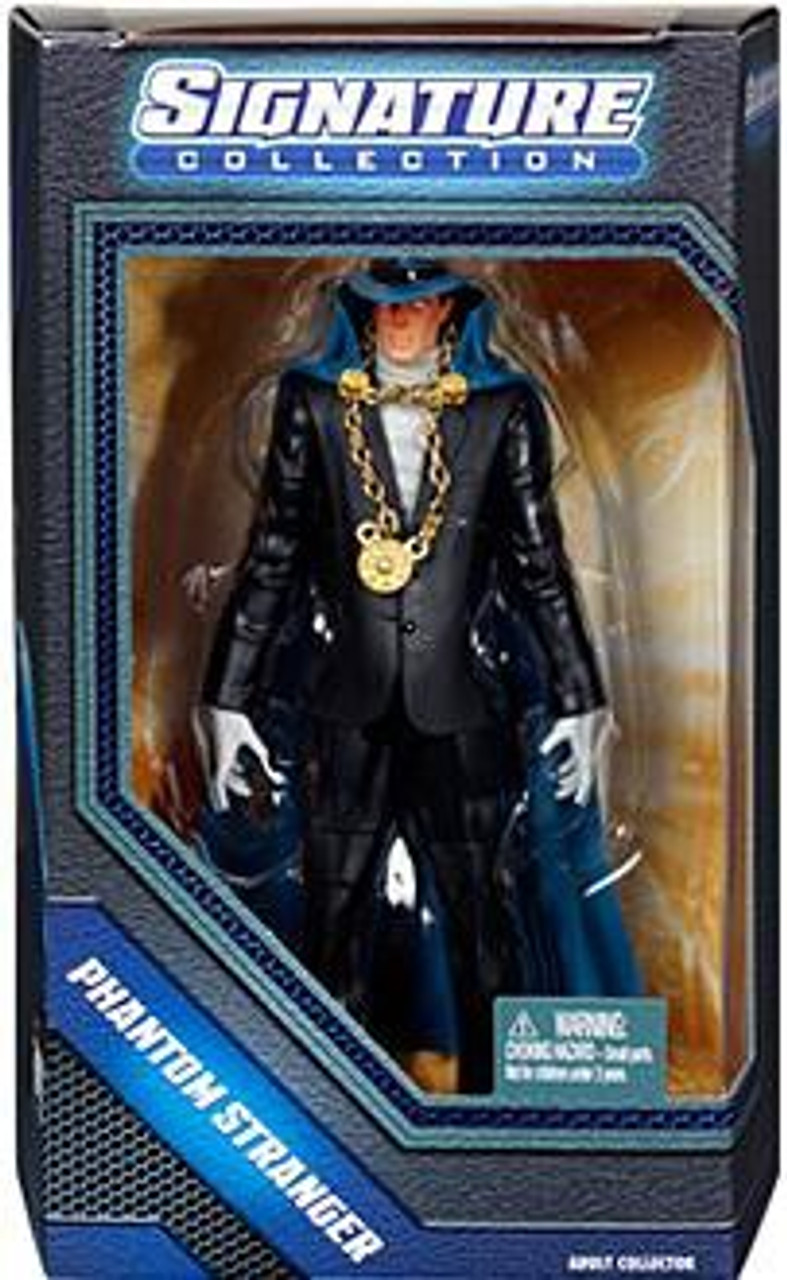 DC Universe Club Infinite Earths Signature Collection Phantom Stranger Exclusive Action Figure
