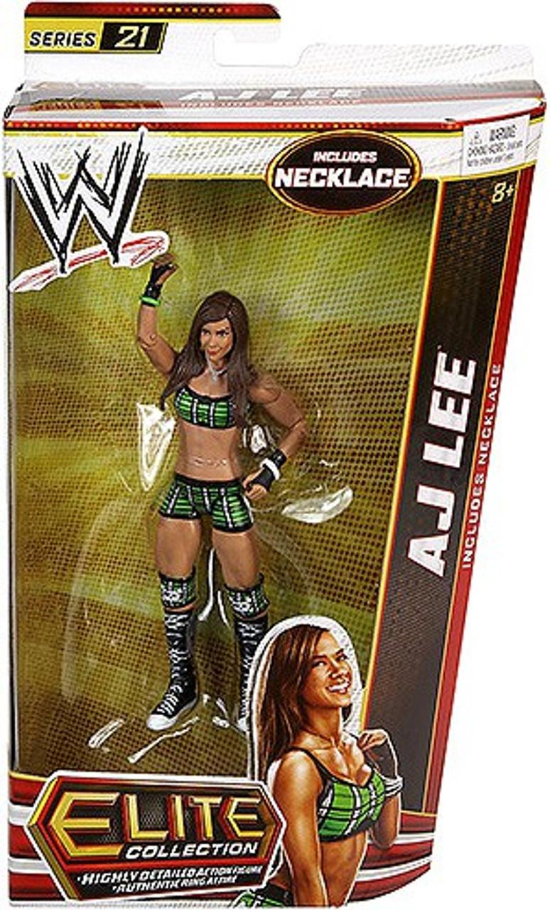 WWE Wrestling Elite Series 21 AJ Lee Action Figure [Necklace]