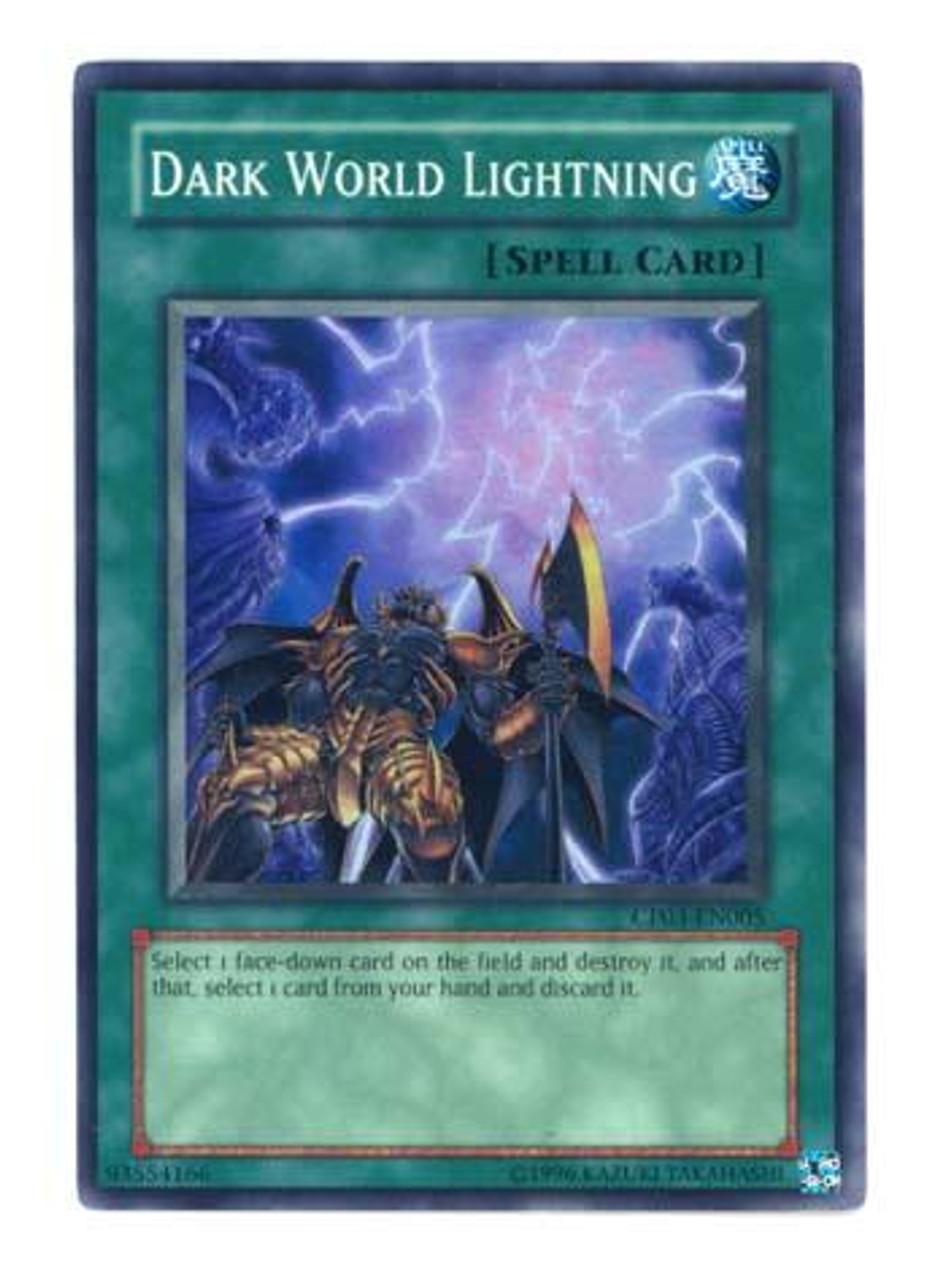 YuGiOh GX Champion Pack: Game 3 Super Rare Dark World Lightning CP03-EN005