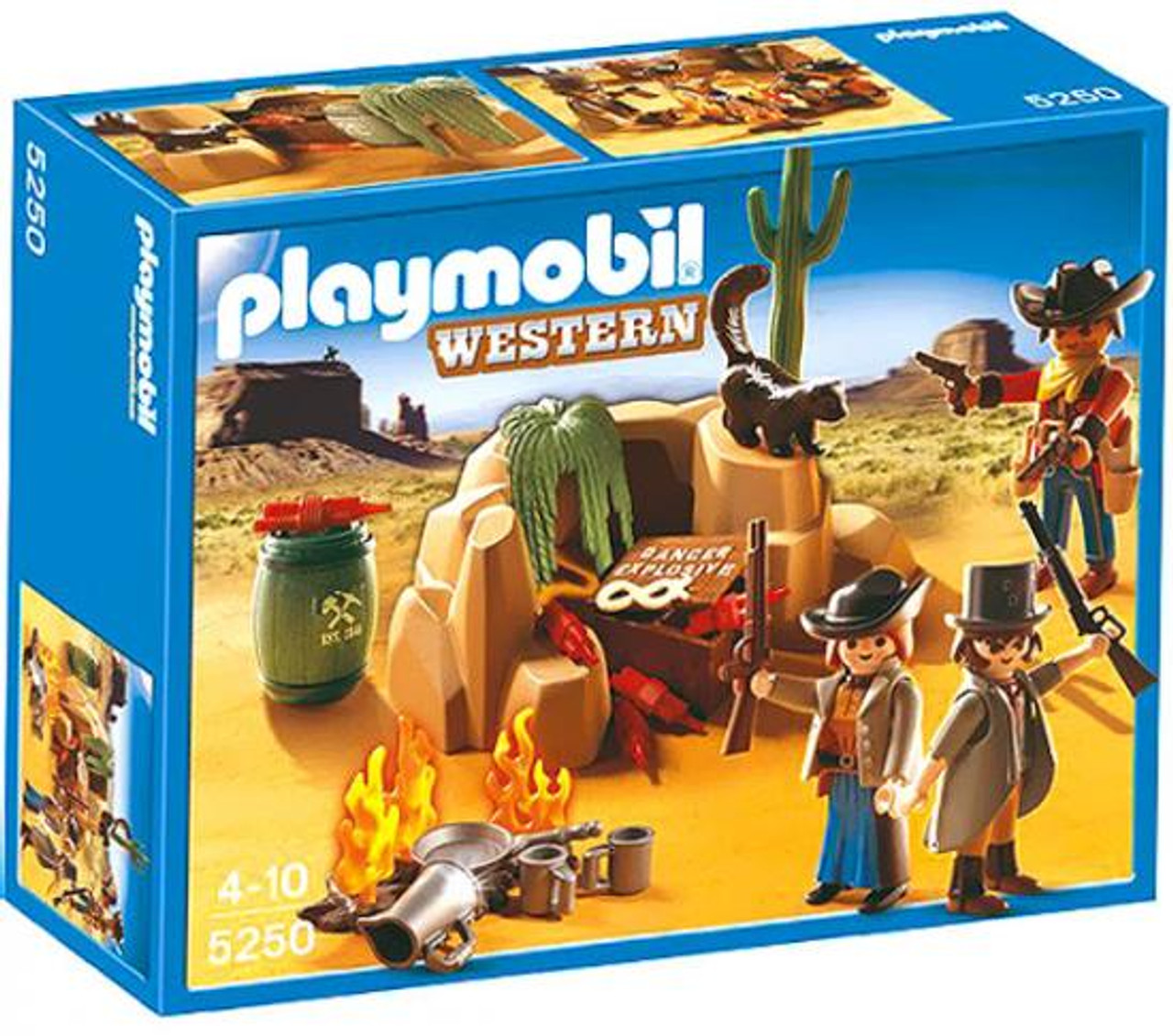 Playmobil Western Outlaw Hideout Set #5250
