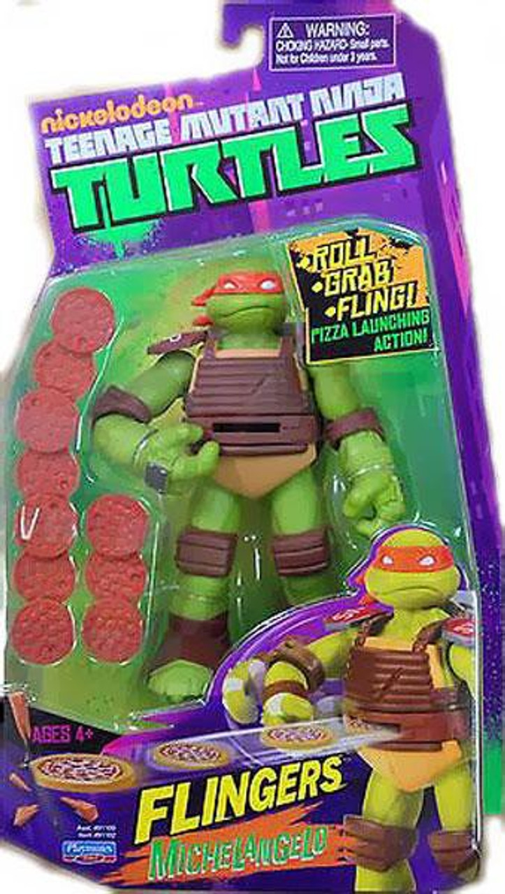 Teenage Mutant Ninja Turtles Nickelodeon Flingers Michelangelo Action Figure
