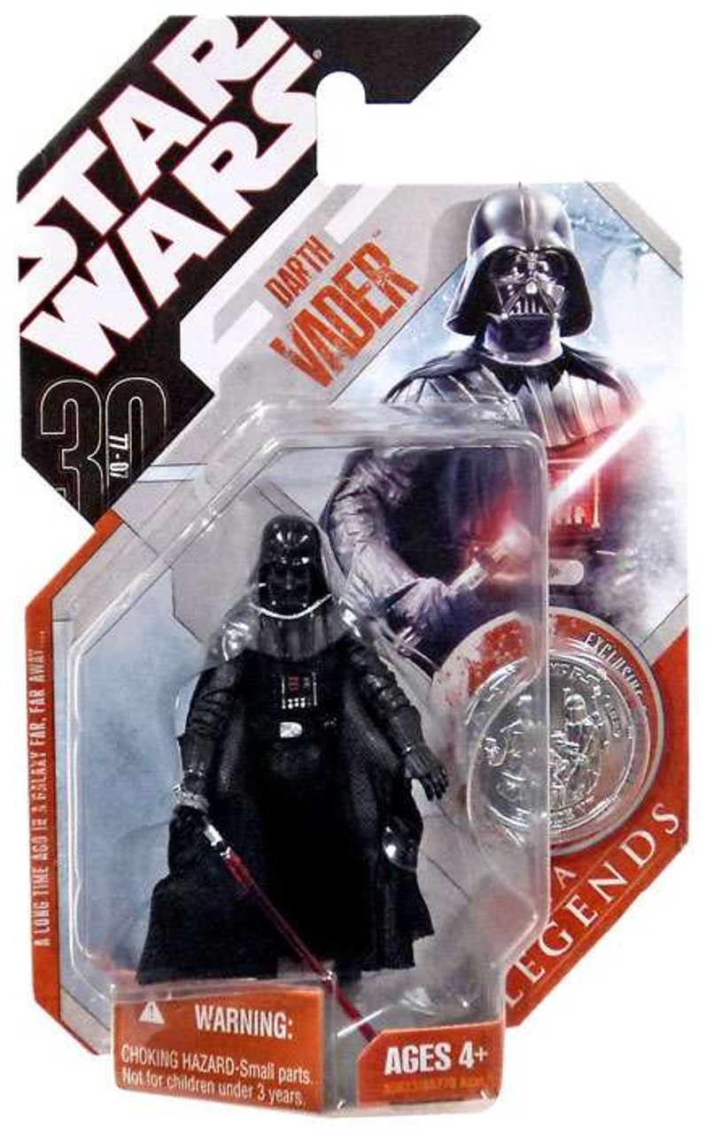 Star Wars A New Hope Saga Legends 2007 30th Anniversary Darth Vader Action Figure #1