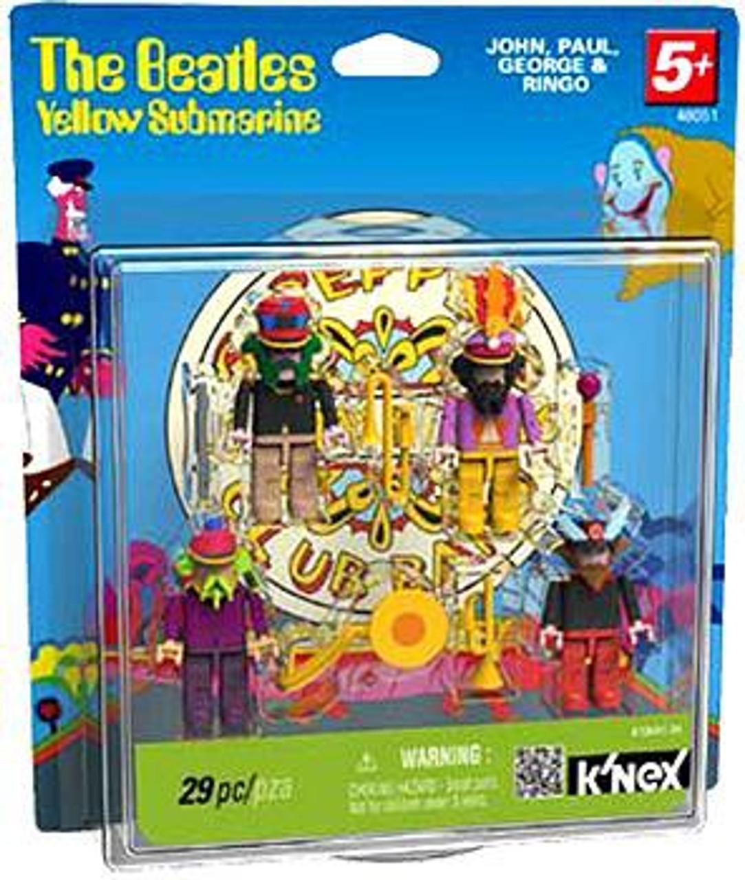 K'NEX The Beatles Yellow Submarine Series 2 Sgt. Pepper Set #48051