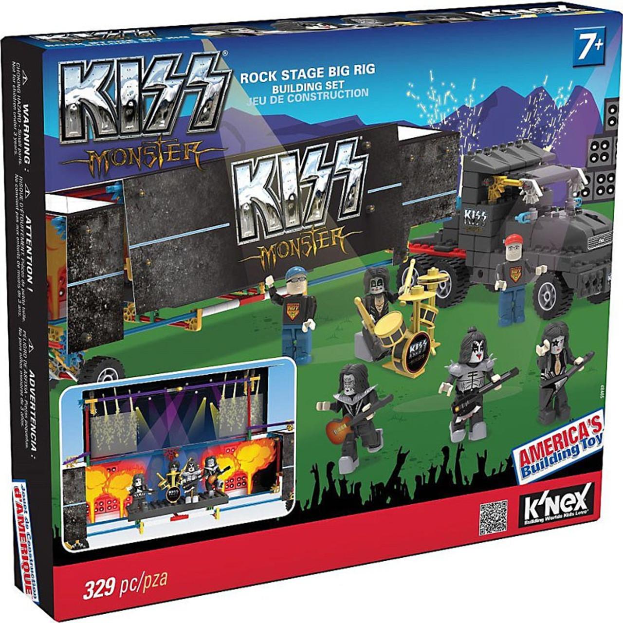 K'NEX KISS Monster Rock Stage Big Rig Set #48465