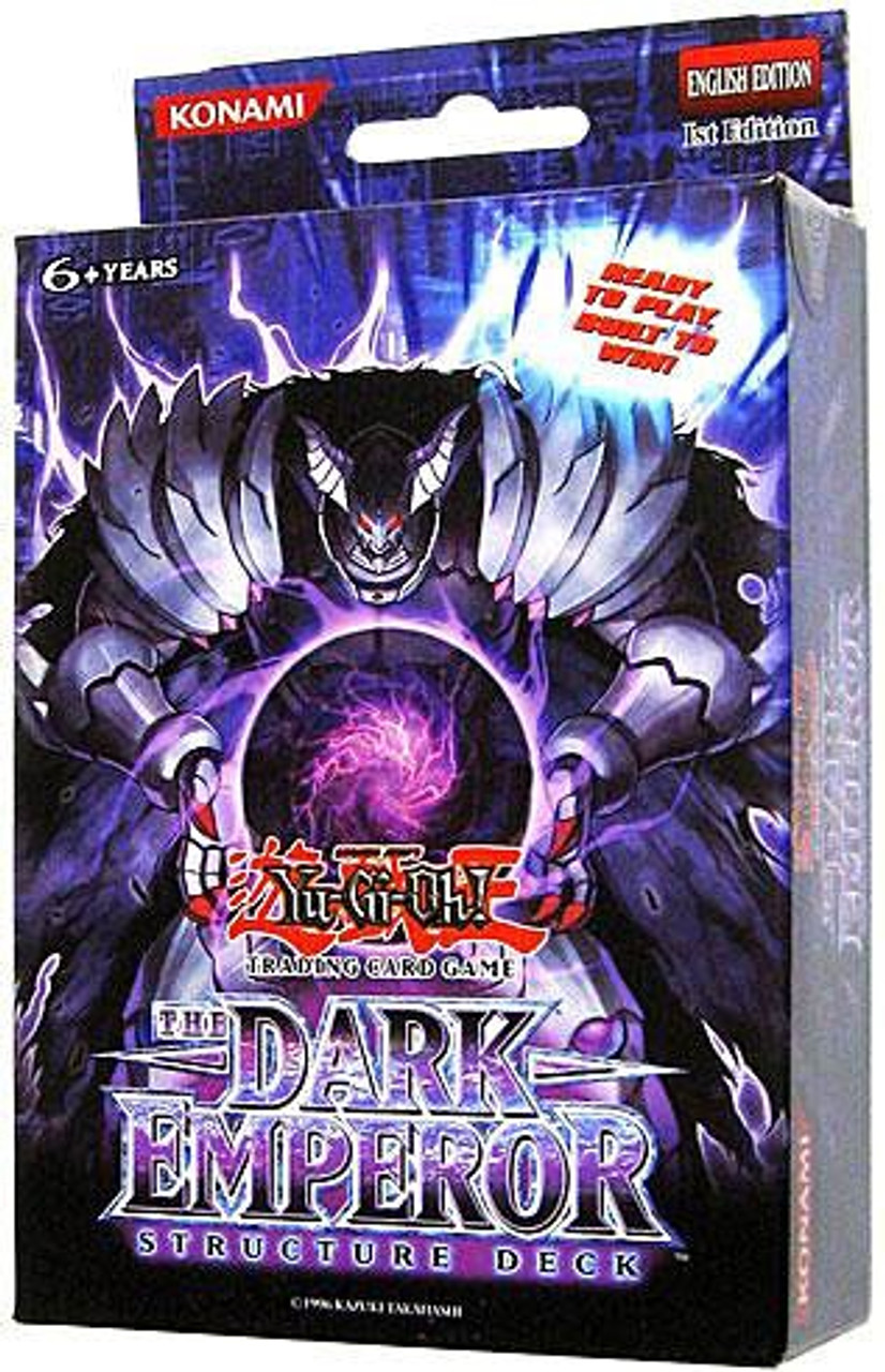 YuGiOh The Dark Emperor Structure Deck [1st Edition]