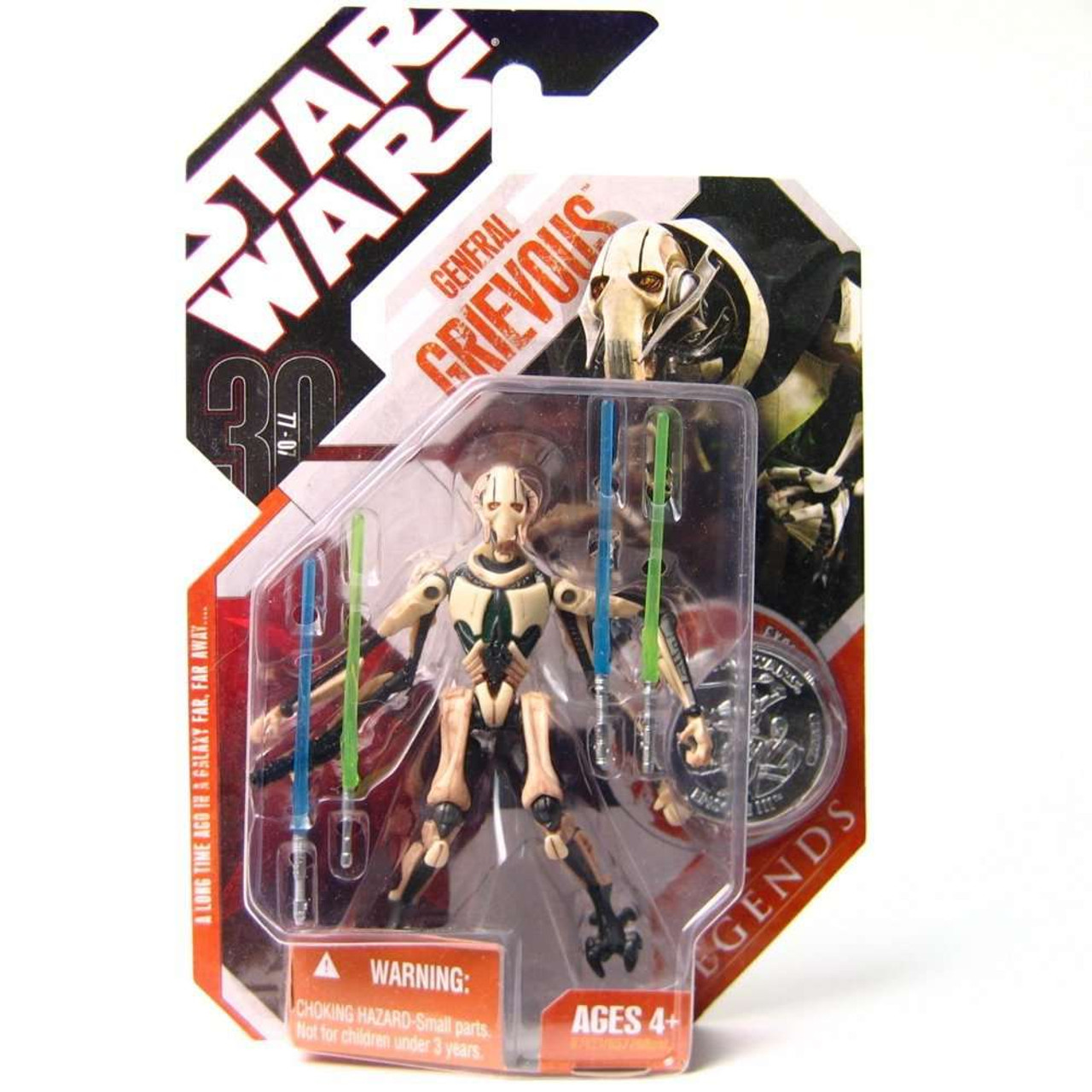 Star Wars General Grievous Toys : Star wars revenge of the sith saga legends th