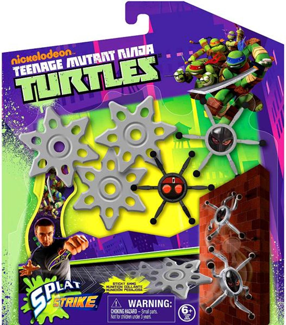 Teenage Mutant Ninja Turtles Nickelodeon Splat Strike Playset Roleplay Toy