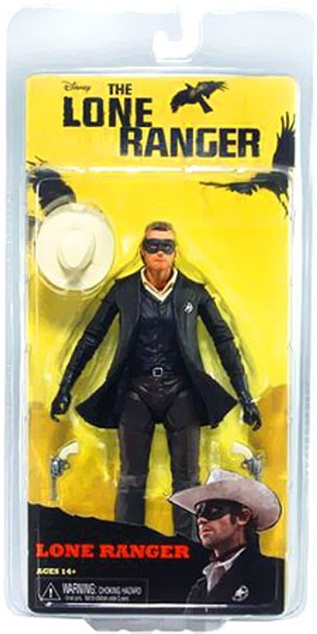 NECA The Lone Ranger Series 1 Lone Ranger Action Figure
