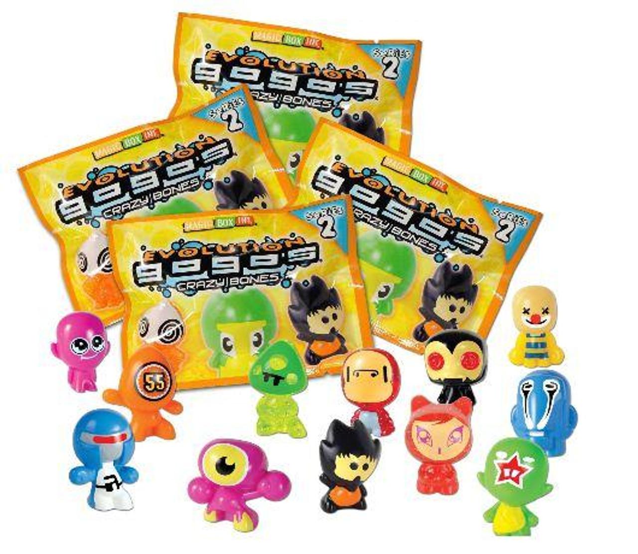 Crazy Bones Gogo's Series 2 Evolution Lot of 4 Booster Packs