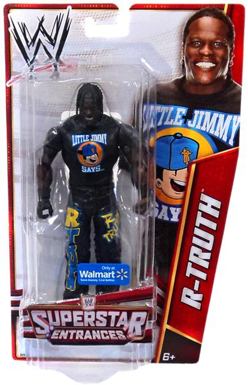WWE Wrestling Superstar Entrances R-Truth Exclusive Action Figure