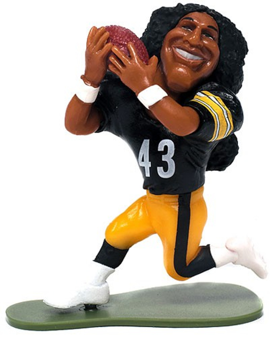 McFarlane Toys NFL Pittsburgh Steelers Small Pros Series 1 Troy Polamalu Mini Figure [Loose]