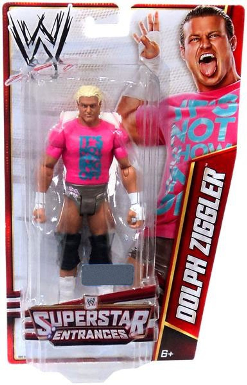 WWE Wrestling Superstar Entrances Dolph Ziggler Exclusive Action Figure