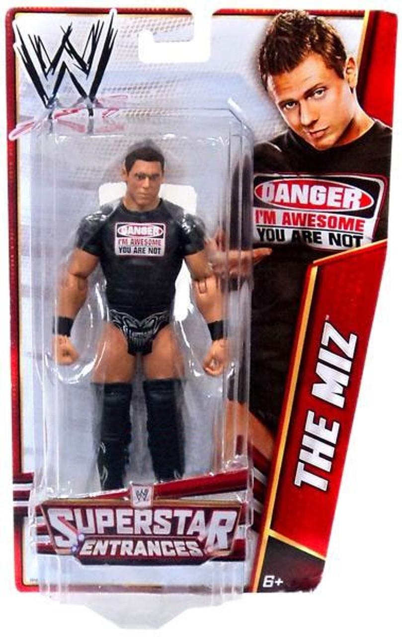 WWE Wrestling Superstar Entrances The Miz Exclusive Action Figure