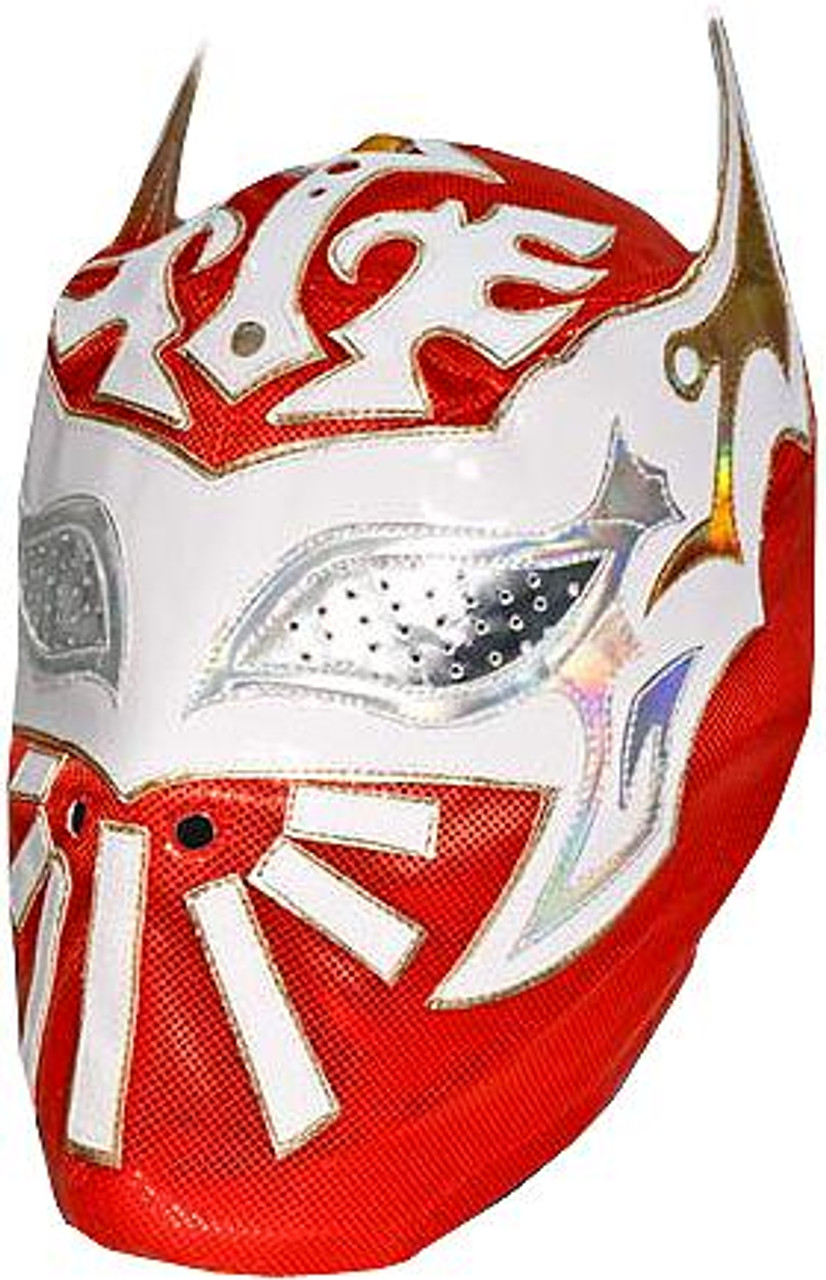 WWE Wrestling Costumes Sin Cara Replica Mask [Red]