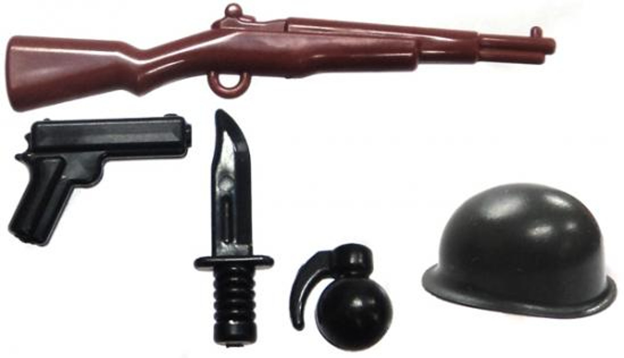 BrickArms American Rifleman Battle Kit Exclusive 2.5-Inch Weapons Pack