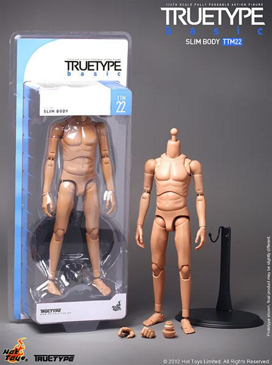 True Type Basics Slim Body 1/6 Collectible Figure [TTM22]