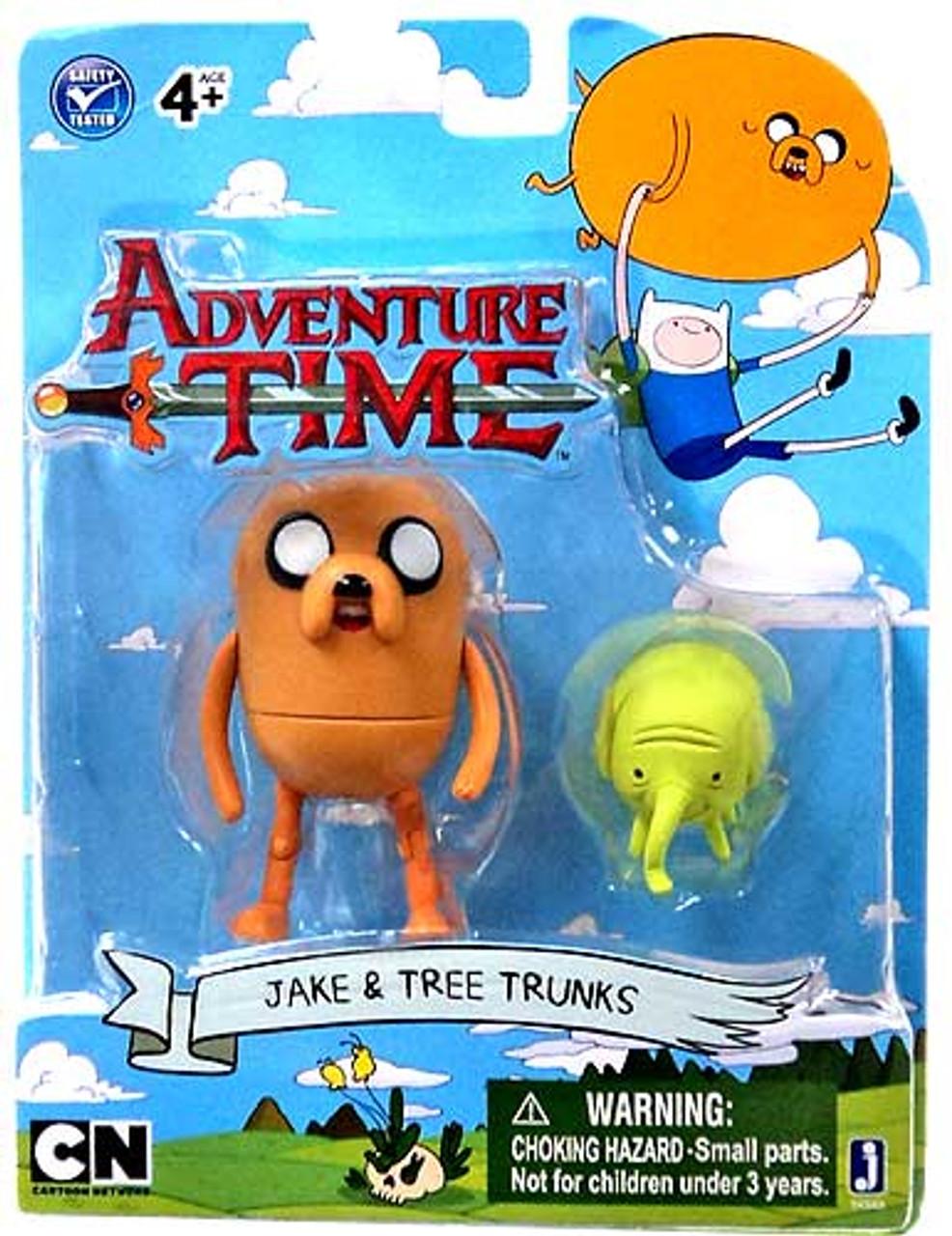 Adventure Time Jake & Tree Trunks 3-Inch Figure 2-Pack